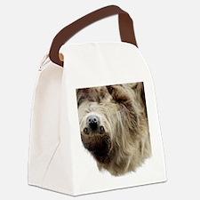 Sloth 5x7 Rug Canvas Lunch Bag