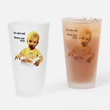 Dirty Harry dialogue Drinking Glass