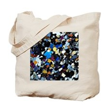 Granulite mineral, light micrograph Tote Bag