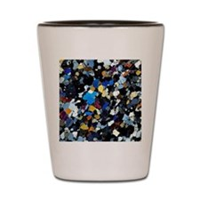 Granulite mineral, light micrograph Shot Glass