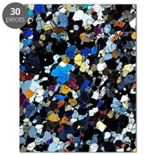 Granulite mineral, light micrograph Puzzle
