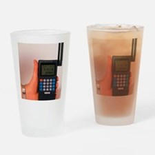 Hand-held GPS receiver Drinking Glass