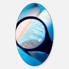 Financial paperwork Sticker (Oval)
