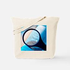 Financial paperwork Tote Bag