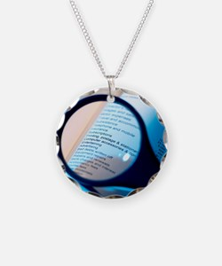 Financial paperwork Necklace