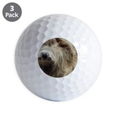 Sloth Pillow Case Golf Ball