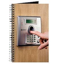 Fingerprint scanner Journal