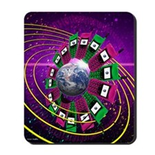 Global communication Mousepad