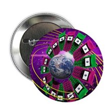 "Global communication 2.25"" Button"