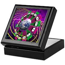 Global communication Keepsake Box