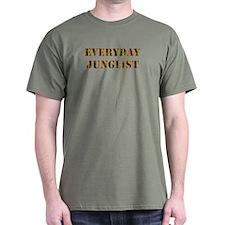 Everyday Junglist (Orange Border) T-Shirt