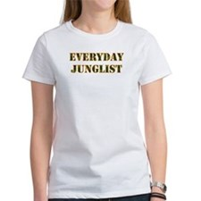 Everyday Junglist (Orange Border) Tee