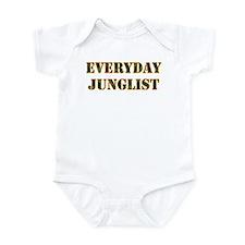 Everyday Junglist (Orange Border) Infant Bodysuit