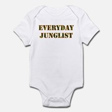 Everyday Junglist (Orange Border) Infant Bodysuit