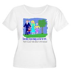 Child Abuse Awareness- Smiley T-Shirt