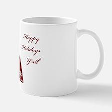 WellArmed.US Girl Happy Holidays Yall Mug
