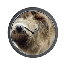 Sloth Laptop Skin Wall Clock