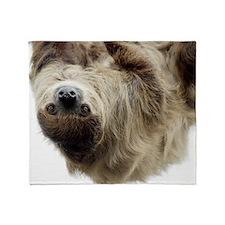 Sloth Laptop Skin Throw Blanket