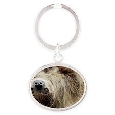 Sloth 3x5 Rug Oval Keychain