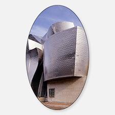 Guggenheim museum, Bilbao, Spain Decal