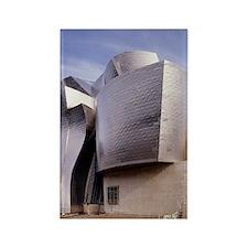 Guggenheim museum, Bilbao, Spain Rectangle Magnet