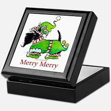 Merry Merry Scottish Terrier Keepsake Box