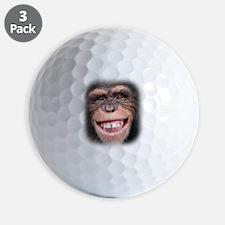 Chipper Chimp Golf Ball