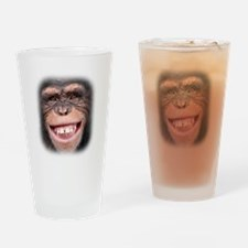 Chipper Chimp Drinking Glass