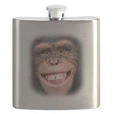 Chipper Chimp Flask
