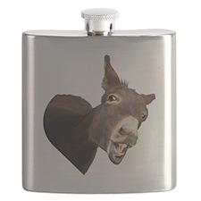 Heart Donkey Flask