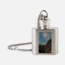 11 x 14 print Flask Necklace