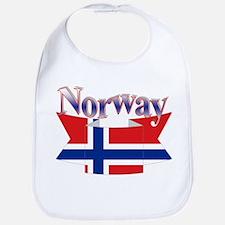 Norway ribbon Bib