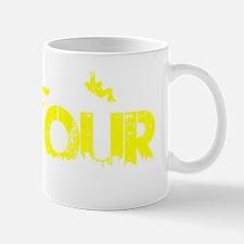 Parkour Crew, Yellow, Mug