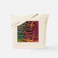 Iris of the eye, SEM Tote Bag