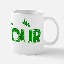 Parkour Crew, Green, Mug