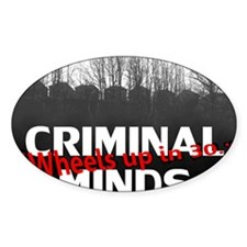 Criminal Minds Up In 30 Decal