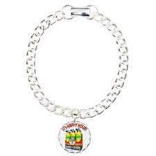 Scuba Nitrox Six-Pack T- Charm Bracelet, One Charm