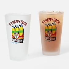 Scuba Nitrox Six-Pack T-Shirt Drinking Glass