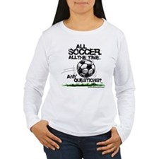 All Soccer Long Sleeve T-Shirt