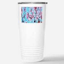 LM of cerebellar tissue Stainless Steel Travel Mug