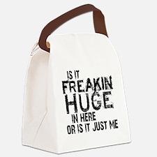 freakin huge Canvas Lunch Bag