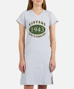 Vintage 1943 Women's Nightshirt