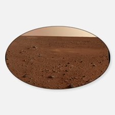 Mars surface from Spirit Sticker (Oval)