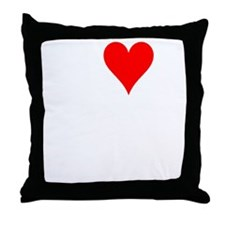 I heart Planking Throw Pillow