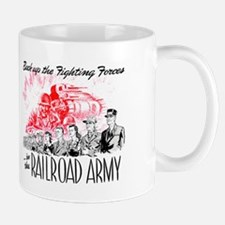 The Railroad Army Mug
