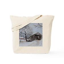 Covered Bridge Tote Bag