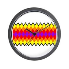 SEMINOLE PATCHWORK Wall Clock