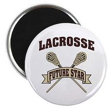 Lacrosse Future Star Magnet