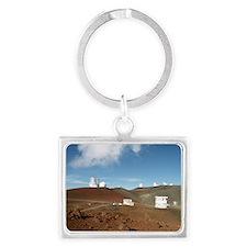 Mauna Kea telescopes Landscape Keychain