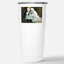 Dog Adoring Girl Victor Travel Mug